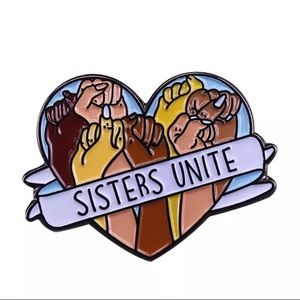 Sisters United Pin